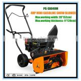 4HP Gasoline hot air snow blower