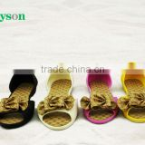 NEW FASHION KIDS PVC AIR BLOWING SANDALS WITH FLOWER