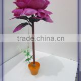 2014 HOT sell customized ball point pens with silk vision flowers arrangement wholesale(AM-F-83-07)