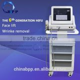 Multifunctional 5 Cartridge Hifu Machine / Face Lifting Hifu Face Lift / Hifu Body Slimming Pigment Removal