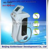 2013 New style E-light+IPL+RF machine www.golden-laser.org/ hair removal wax making machine
