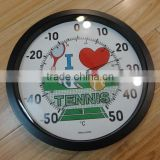 16'' outdoor plastic round thermometer /promotional thermometer/promotional thermometer