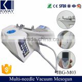 Portable mesotherapy gun vacuum needle mesoguns vital injector for korea