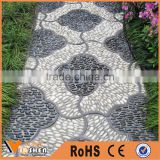 China price of multi natural stone pebbles and cobbles for landscape