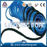 blue synthetic winch rope for 4*4 ATV jeep