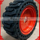 China cheap mini skid steer loader for sale bobcat skid steer solid tires14.00x24 14.00-24 17.5x25 17.5-25 with factory price