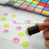 Educational DIY painting plaster toy kids craft toy with shenzhen cosmetics artist brush set