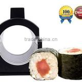 Sushi Making Kit with Rice Press Mold Set. Various Shapes Sizes-Round Mickey Mouse Ears-Perfect Roll Maker Tools