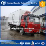 2017 latest model good quality 15t 4x2 jiefang J6 frozen truck for sale