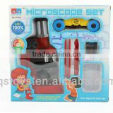 300X Microscope with telescope toys funny micrscope intellect toys