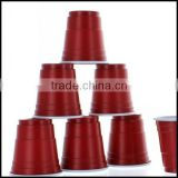 Mini Red Cups Plastic 2 oz Shot Glasses College Party Disposable plastic goblet beverage cups wholesale