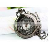 fashion Crystal Women's Bracelet Bangle Cuff WATCH /POCKET watch HYY-KQL012