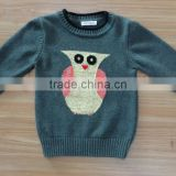 New Girls owl sweater female loose Bat Sleeve Sweater Size girl beautiful sweater(NF1524)