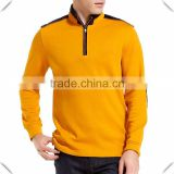 China Supplier hoodie sweatshirts Manufacturing factory Long Sleeve T Shirt Men Fashion 1/4 pullover jacket tops Apparel