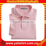 Cheap bulk hot sale breathable soft cotton solid color short sleeve polo shirt stock lot
