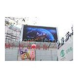 1R1G1B P8 Outdoor Led Video Display , Steel / Aluminum Advertising LED Screen