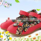 Best selling beautiful applique bow tie for shoe decoration