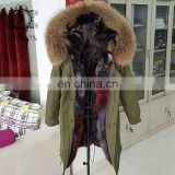 irisfox new product parka winter jacket parka fur jacket unisex