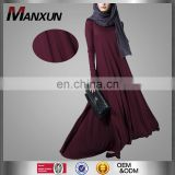 Modest China Cheap Simple Style Dubai Abaya Turkish Design Muslim Dress Islamic Women Clothing
