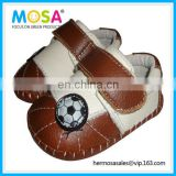 Handmade Baby Shoes Genuine Leather Sport Pattern Shoes