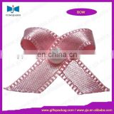 Hot sale high quality polyester lingerie ribbon bow /bra