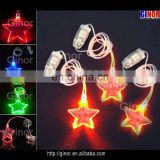 star led flashing pendant
