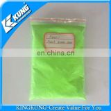 High quality green powder PVC airblowing powder
