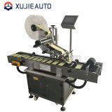 automatic mirror top side sticker flat labeling machine