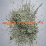 Polishing green silicon carbide abrasives material