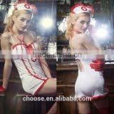 Very Seductive babydoll design japanese sexy nurse cosplay costume set hot