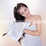 100%Cotton plain weave fabric cheap face washer towels super absorbent canbe customize
