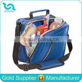 Hot Sale Jacquard Polyester Thermal Lunch Box Bag PEVA Liner Thermal Lunch Box Messenger Bag