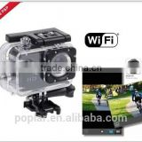 Poplar Sports Action Camera Sj4000 Wifi Action Camera 1.5inch LCD H.264 Full HD 1080p 30M waterproof Camera PC Camara 170 Angel