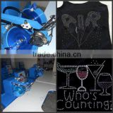 low cost hot fix rhinestone setting machine for sale