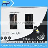 2015 Latest All In one Design led headlight without Fan ,canbus and EMC Built -in , car led headlight h8 h9 h11 led headlight