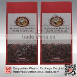 Factory price Block Bottom custom printed paper tea bag