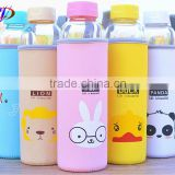Promotional colorful printed insulated water bottle holder bag neoprene water bottle cooler bag