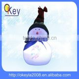 Home decor LED plastic surface Painting angel snowman light