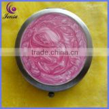 New model design pink makeup mirror fashion cheap dressing mirror (HZH166)