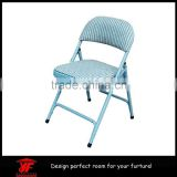 Hand made leather dining chair, rest chair, iron chair