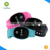 CooSpo ble beacon silicon sport wristband silicone for daily activity track