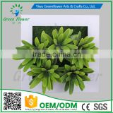 Greenflower 2016 Wholesale 3D Wall Picture Group artificial plants arts and crafts making factory