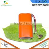 Good quality li-ion battery 5200mAh 7.4V lithium ion POS battery for electronic instrument