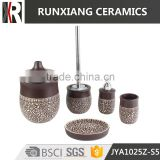 set of 5ps good quality ceramic bathroom accessories set                                                                         Quality Choice