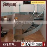 plexiglass staircase inflatable stair slide tempered glass