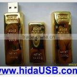 Gold bar pen drive, Goldbar USB drive