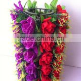 China Yiwu beautiful real touch artificial rose silk flower for wedding decoration                                                                         Quality Choice