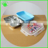 Stainless Steel Leakproof Bento Lunch Box With Compartments