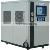 Small type water cooled open style low-temperature refrigeration chiller with sanyo piston/scroll compressor
