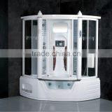 Enclosed steam shower room computer controlled steam shower room with LCD TV high tech shower cabin G157B